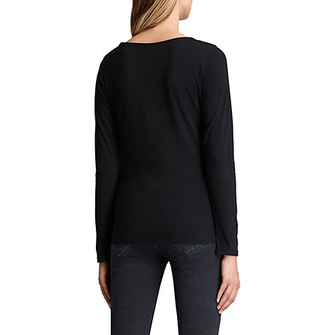 Buy AllSaints Long Sleeve Vetten T-Shirt Online at johnlewis.com