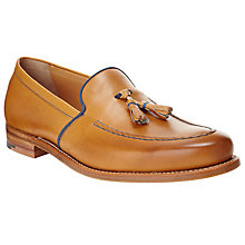 Buy JOHN LEWIS & Co. Made in England Leather Loafers, Tan Online at johnlewis.com