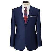 Buy Daniel Hechter Flannel Tailored Suit Jacket, Blue Online at johnlewis.com