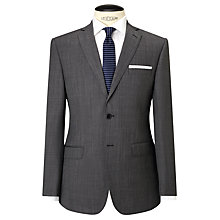 Buy Daniel Hechter Pindot Tailored Suit Jacket, Grey Online at johnlewis.com