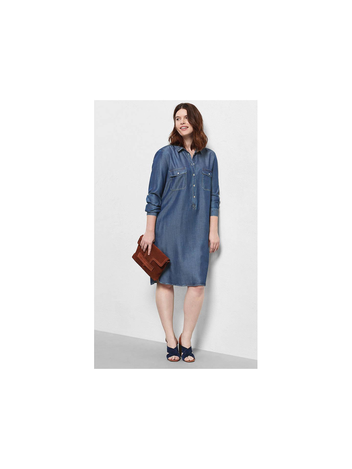 72adcdd2972 Buy Violeta by Mango Denim Shirt Dress