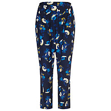 Buy Studio 8 Skyler Trousers, Blue/Multi Online at johnlewis.com