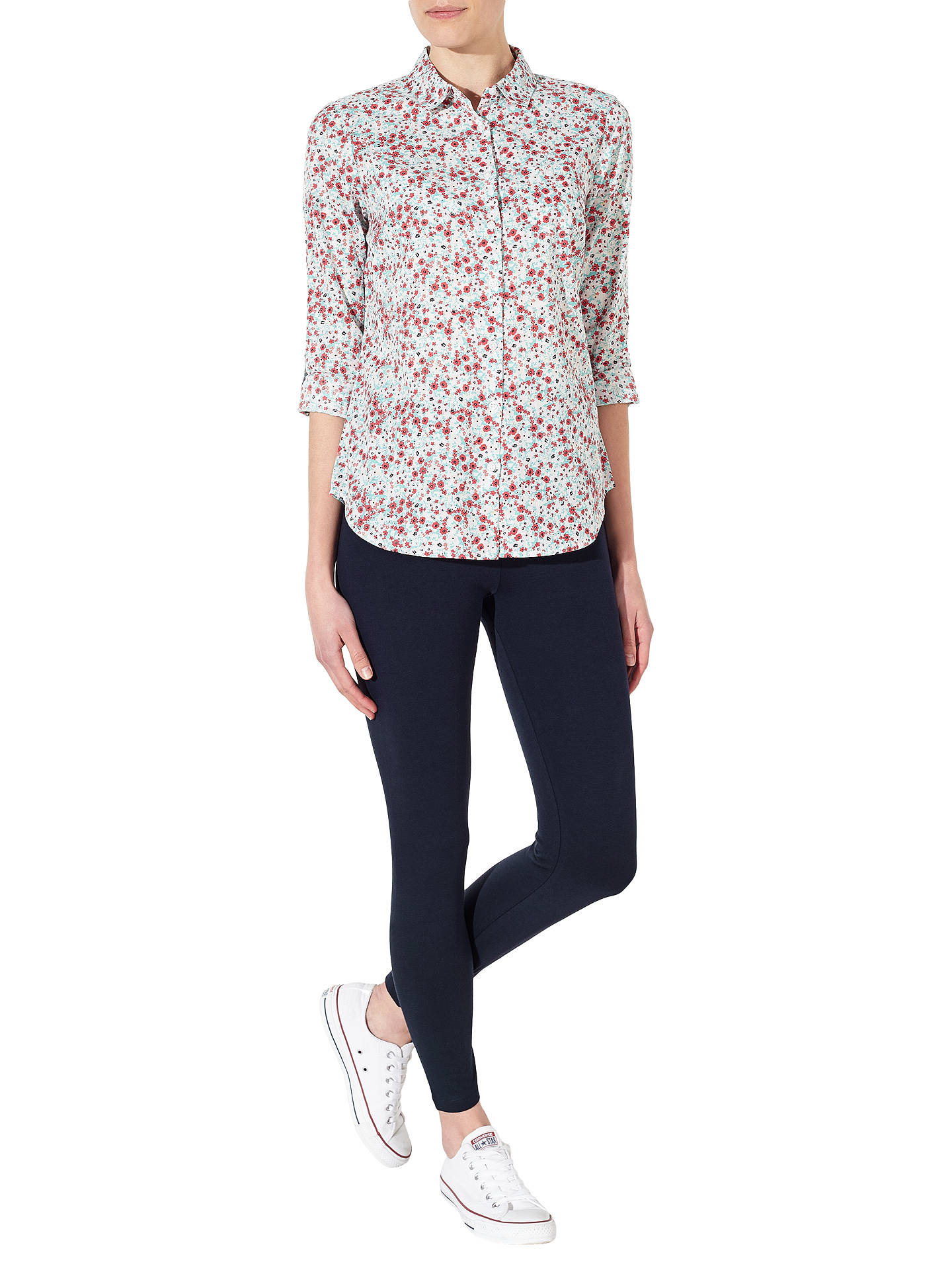Buy John Lewis Leggings, Navy, S Online at johnlewis.com