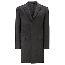 Buy John Lewis Twill Epsom Coat, Grey Online at johnlewis.com
