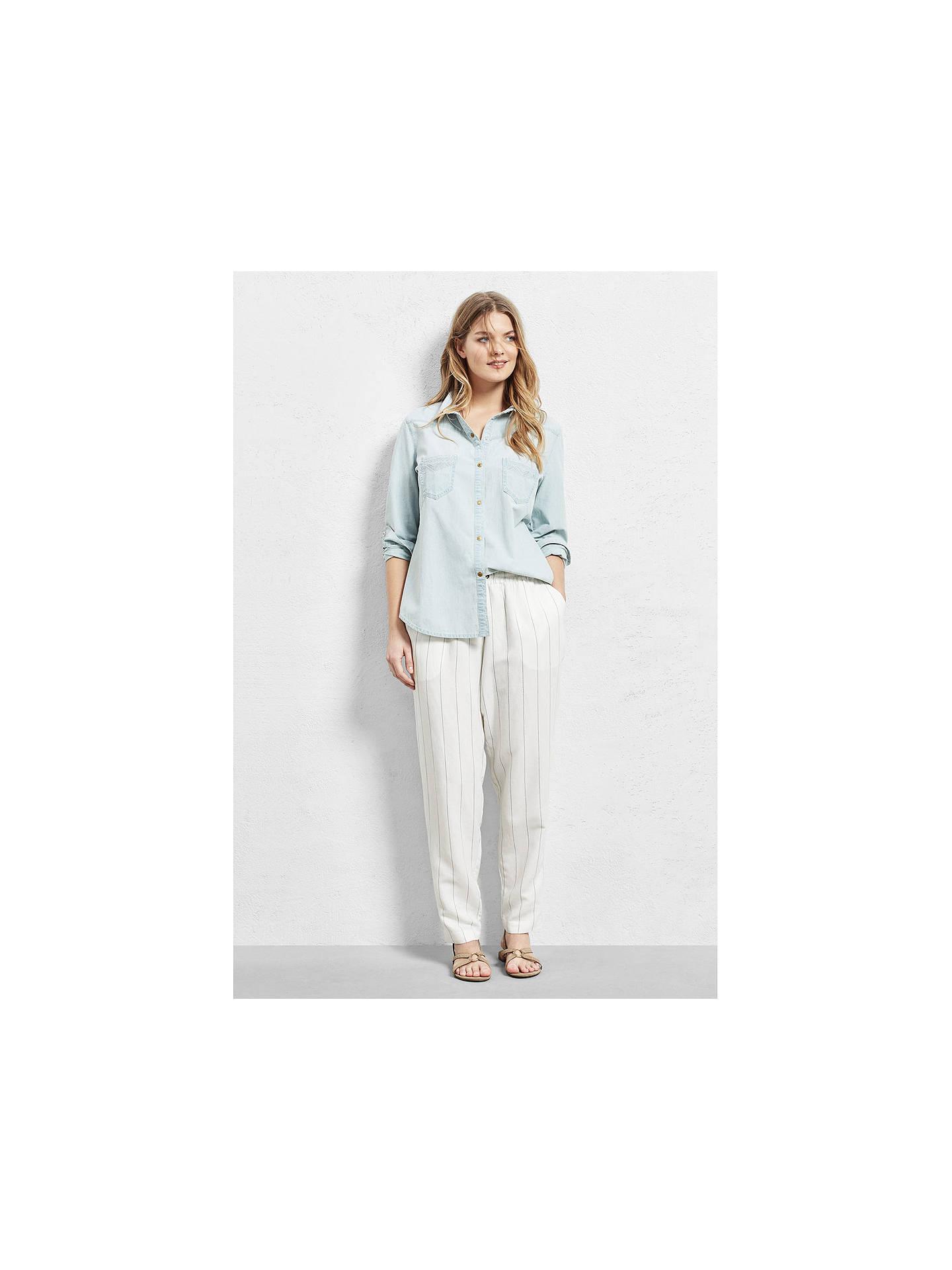 df10f561fcd Buy Violeta by Mango Bleached Denim Shirt