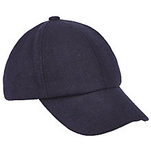 Buy JOHN LEWIS & Co. 6 Panel Denim Cap, Blue Online at johnlewis.com