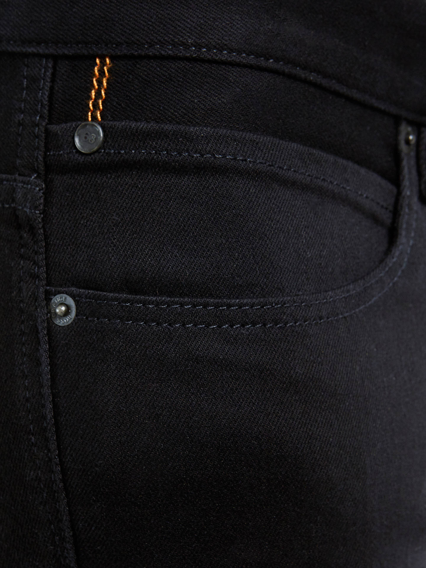 BuyBOSS Orange Slim Jeans, Black, 32S Online at johnlewis.com