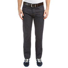 Buy BOSS Orange Barcelona Straight Jeans, Dark Blue Online at johnlewis.com