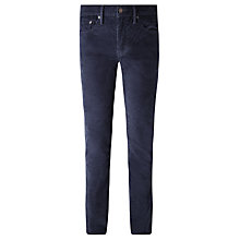 Buy Levi's 511 Slim Fit Corduroy Trousers, Nightwatch Blue Online at johnlewis.com