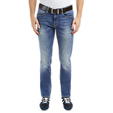 Buy BOSS Orange Orange63 Slim Jeans, Bright Blue Online at johnlewis.com