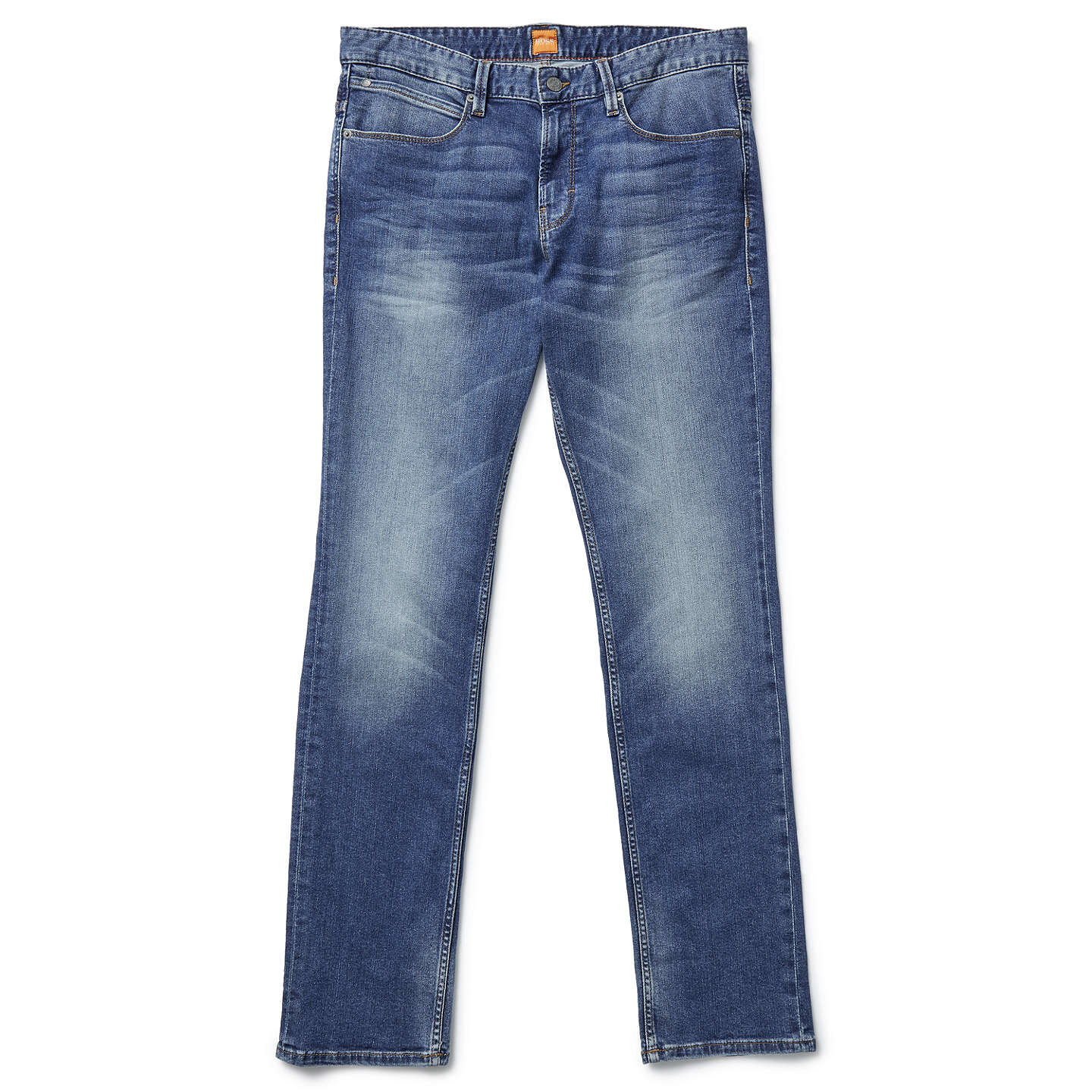 BuyBOSS Orange Orange63 Slim Jeans, Bright Blue, 32S Online at johnlewis.com