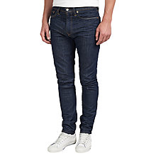 Buy Levi's 512 Slim Tapered Jeans, Broken Raw Online at johnlewis.com