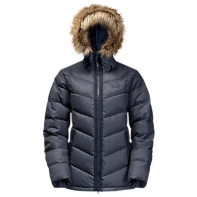 Jack Wolfskin Baffin Bay Down Insulated Women's Jacket, Blue