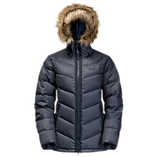Buy Jack Wolfskin Baffin Bay Down Insulated Women's Jacket, Blue Online at johnlewis.com