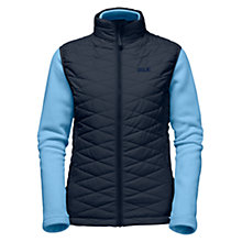 Buy Jack Wolfskin Glen Dale Women's Gilet and Fleece Jacket, Navy Online at johnlewis.com