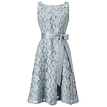Buy Phase Eight Kendall Cutwork Dress, Glacier Online at johnlewis.com