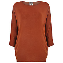 Buy Phase Eight Becca Batwing Jumper, Tobacco Online at johnlewis.com