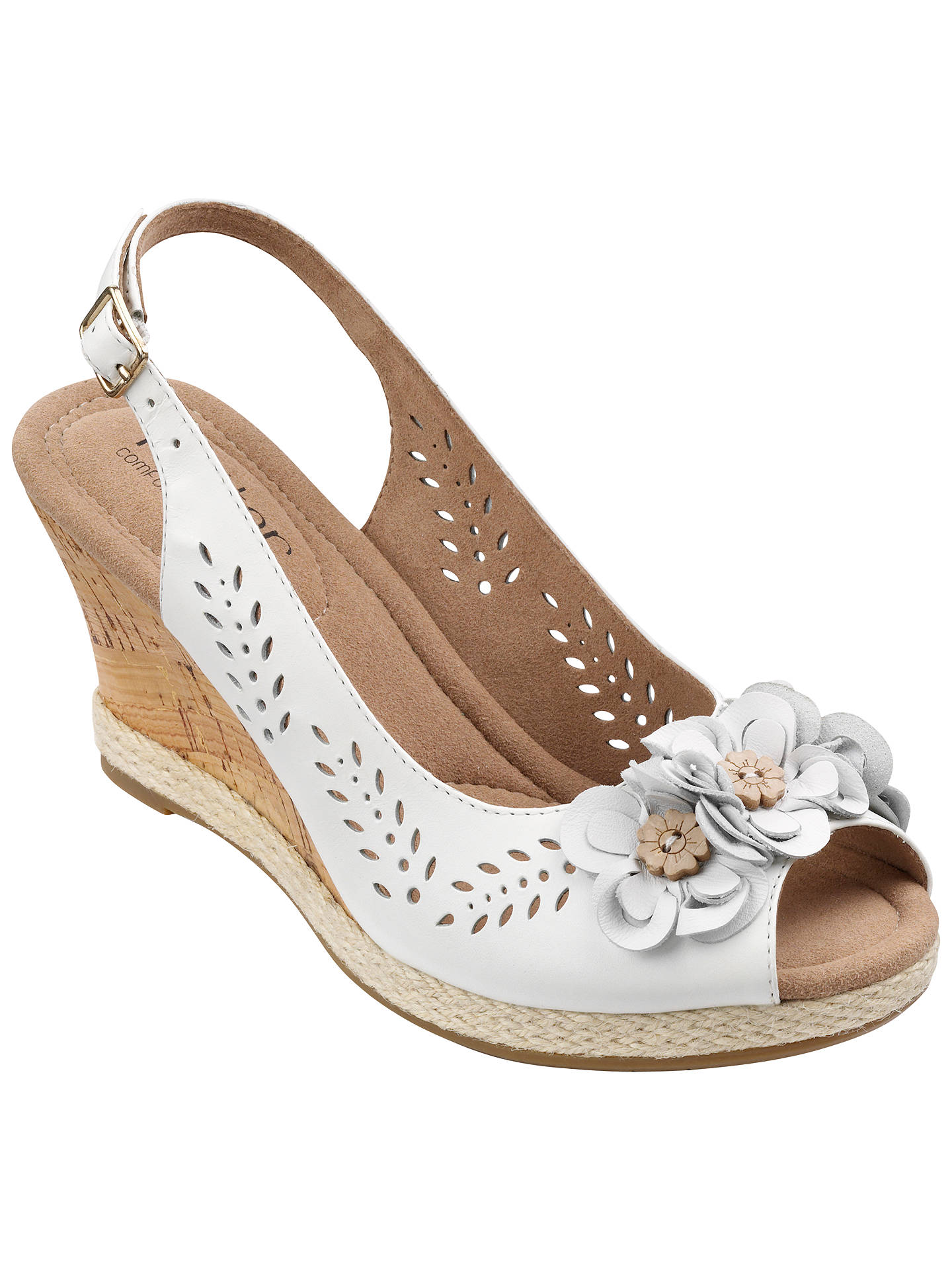 Hotter Womens Travel Sling Back Sandals