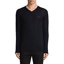 Buy AllSaints Mode V Neck Jumper Online at johnlewis.com