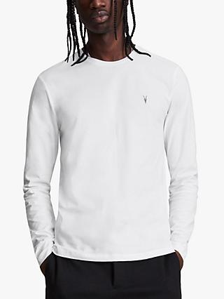 AllSaints Brace Long Sleeve Crew T-Shirt