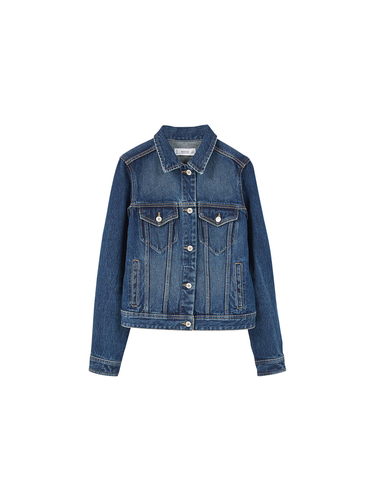 858735086f BuyMango Dark Denim Jacket