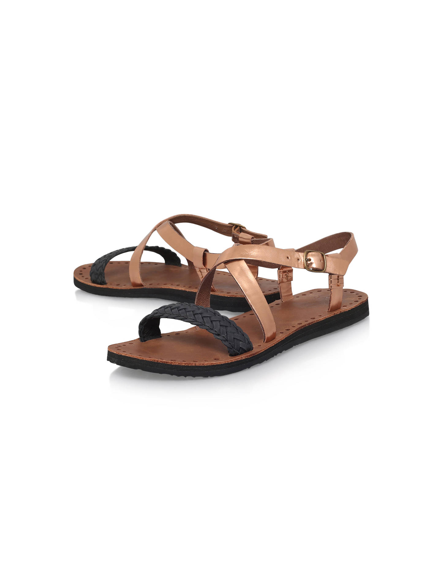 a536442a154 UGG Jordyne Cross Strap Sandals at John Lewis & Partners