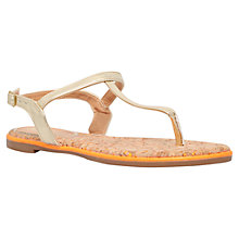 Buy Miss KG Riva Toe Post Sandals, Gold Online at johnlewis.com
