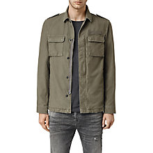 Buy AllSaints Ajax Cotton Jacket Online at johnlewis.com