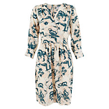 Buy Closet Crossover Print Dress, Multi Online at johnlewis.com