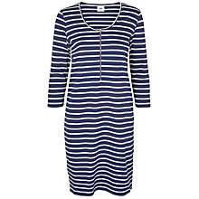 Buy Mamalicious Carla Lia 3/4 Maternity Nursing Dress, Blue Online at johnlewis.com