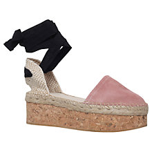 Buy Carvela Kupkake Cork Platform Sandals Online at johnlewis.com