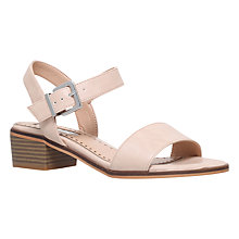 Buy Miss KG Pablo Block Heeled Sandals, Nude Online at johnlewis.com