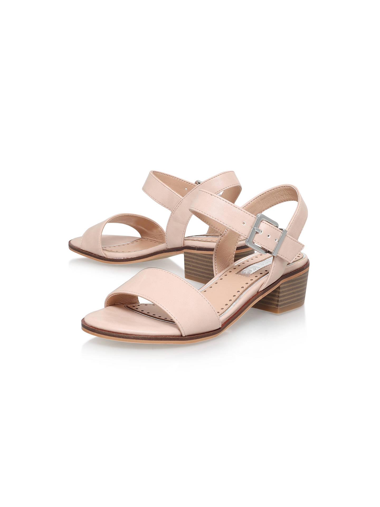 Buy Miss KG Pablo Block Heeled Sandals, Nude   John Lewis