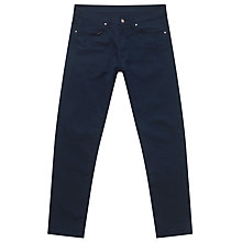 Buy Carhartt WIP Vicious Trousers, Navy Online at johnlewis.com