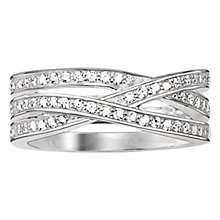 Buy Thomas Sabo Glam & Soul Eternity Love Ring, Silver Online at johnlewis.com