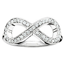 Buy Thomas Sabo Glam & Soul Infinity Ring, Silver Online at johnlewis.com
