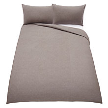 Buy John Lewis Chambray Brushed Cotton Bedding Online at johnlewis.com