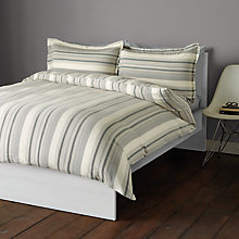 Buy John Lewis City Stripe Cotton Bedding Online at johnlewis.com