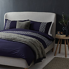Buy John Lewis Croft Collection Frost Embroidery Bedding Online at johnlewis.com