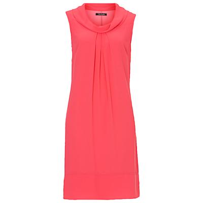 Betty Barclay Cowl Neck Chiffon Dress, Sweet Pink
