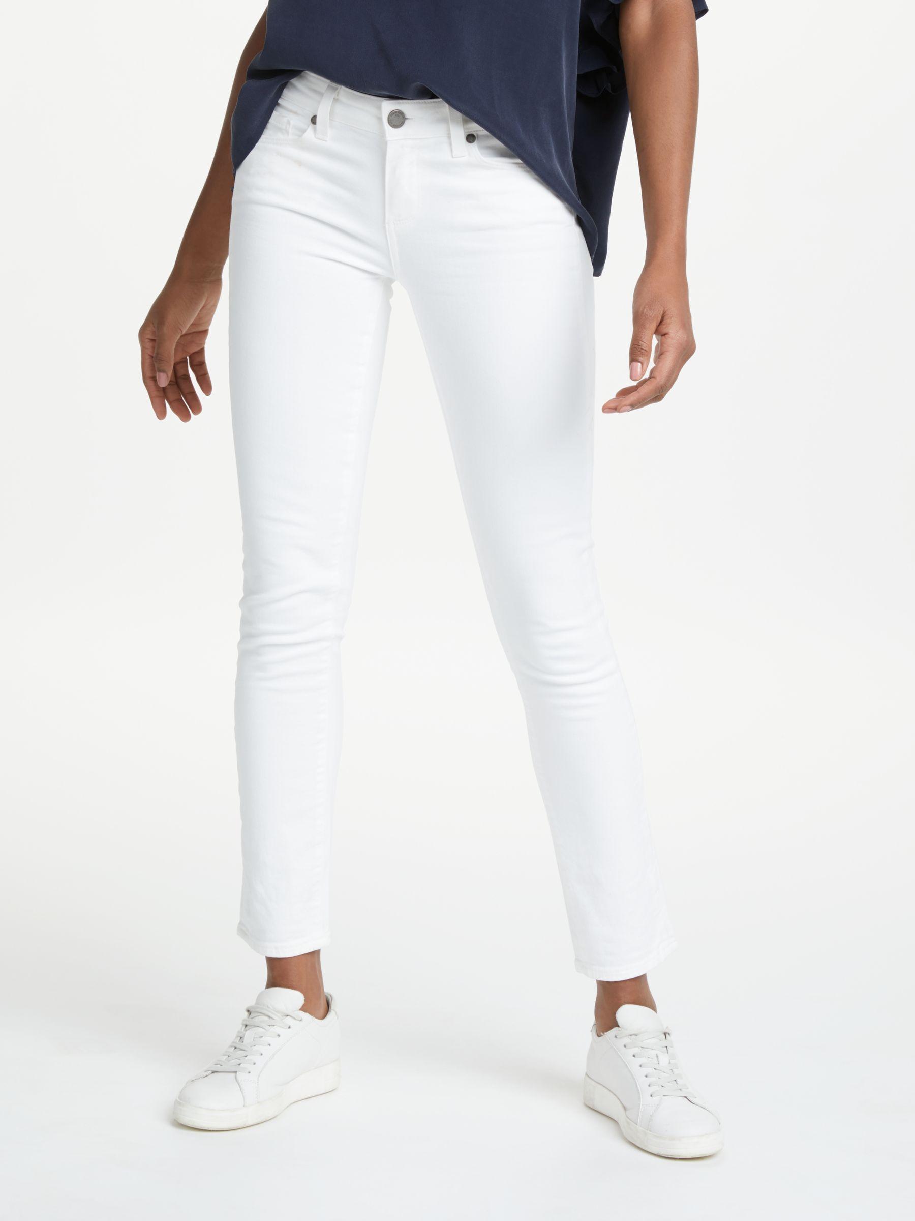 Paige Paige Skyline Skinny Jeans, Optic White