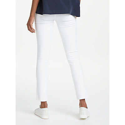 Paige Skyline Skinny Jeans, Optic White