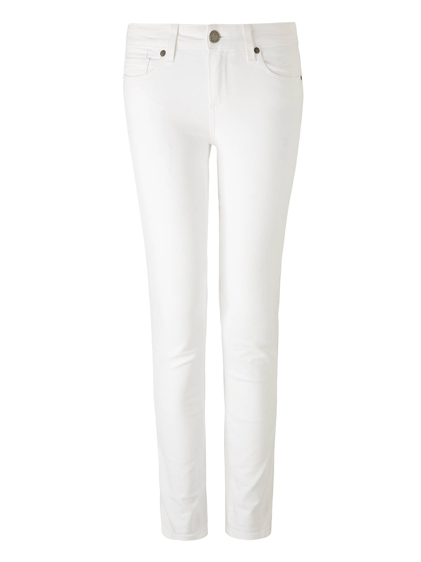 BuyPaige Skyline Skinny Jeans, Optic White, 24 Online at johnlewis.com