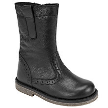 Buy John Lewis Children's Isobel Boots, Black Online at johnlewis.com