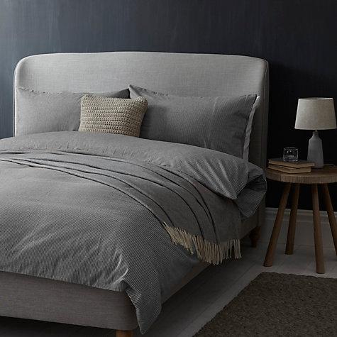 Croft Collection Euan Stripe Brushed Cotton Bedding Online At Johnlewis