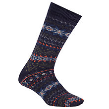 Buy John Lewis Pattern Lounge Socks, Multi Online at johnlewis.com