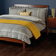 Buy John Lewis Fusion Amala Jacquard Duvet Cover and Pillowcase Set Online at johnlewis.com