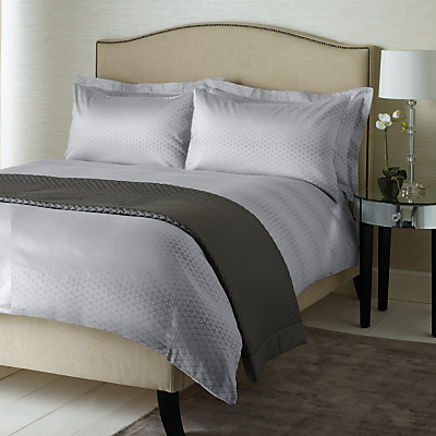 John Lewis Boutique Hotel Geo Jacquard Cotton Bedding