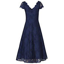 Buy Jolie Moi Cap Sleeve Scalloped Dress Online at johnlewis.com