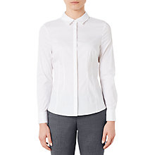Buy John Lewis Workwear Shirt, White Online at johnlewis.com